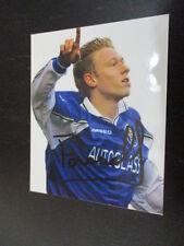 64925 Mikael Forssell Finnland FC Chelsea original signiertes Autogrammfoto