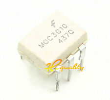 50pcs moc3010 FSC Optoisolator 5.3kv Triac 6dip NUOVO Buona Qualità