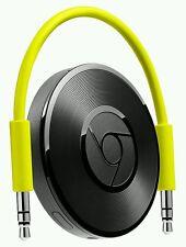 Google chromecast audio au wifi intégré vert 4.1 android ios 7.0 3.5 mm jack