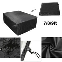 7/8/9ft Polyester Waterproof Fabric Outdoor Pool Snooker Billiard Table  ~