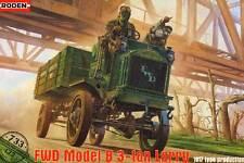 ABATTAGE DES ARBRES FWD Modèle B 3 tonne Camion USA 1:72 première américain LKW