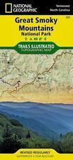 National Geographic Trails Illustrated Map: Great Smoky Mountains : National...