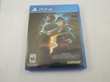 Resident Evil 5 Playstation 4 PS4 EXCELLENT condition