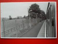 PHOTO  IBM HALT RAILWAY STATION  30/6/87 IS A RAILWAY STATION ON THE INVERCLYDE