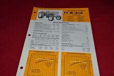 International Harvester B-414 Industrial Tractor Dealer's Brochure YABE14