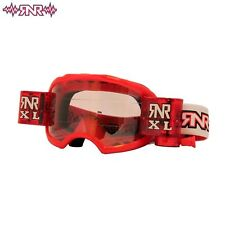 RIP N ROLL RNR COLOSSO XL OFF MOTOCROSS MASCHERINA ROSSO ENDURO 36mm