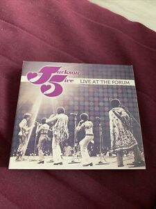 "JACKSON 5 "" LIVE AT THE FORUM"" 2 CD NEW"