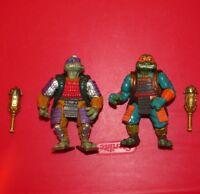 Teenage Mutant Ninja Turtles : Vintage Movie III 3 Don and Mike Figure lot