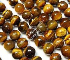 22 TIGERAUGE Edelstein Naturstein Perlen Gemstone Beads KUGEL 4mm NATUR AZG64