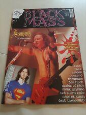 Black Mass Fanzine Black Metal Death Metal Nr.1 Heavy Metal Magazine
