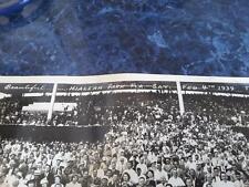 HIALEAH PARK Florida,Feb 4, 1939 HUGE 36 x 8 REAL , ACTUAL PHOTO horse racing