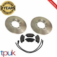 FORD TRANSIT MK7 2.4 2.2 RWD REAR BRAKE DISCS AND PADS 280mm 2006 - 2014