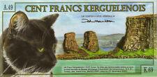 Archipiélago del Kerguelen/Kerguelen Islands 100 francos 2010 (1) polímero