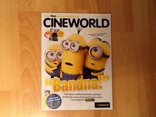 PROMOTIONAL FILM MAGAZINE U.K CINEMAS 2015 . MINIONS , JURASSIC WORLD . NEW .