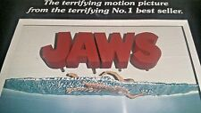 McFarlane Toy JAWS #1 1975 Movie 3D Poster Art Figure Statue Steven Spielberg'75