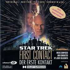 STAR TREK: FIRST CONTACT - ORIGINAL MOTION PICTURE SOUNDTRACK / CD