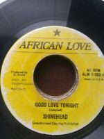 "Shinehead-Good Love Tonight 7"" Vinyl Single REGGAE DANCEHALL"