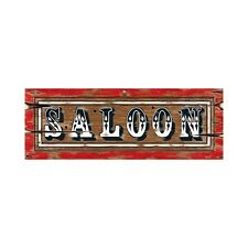 Wild West Saloon Party Sign - 56 cm - Western and Cowboy Wall Decorations