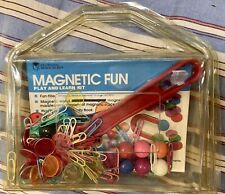 Learning Resources Magnetic Fun Play and Learn Magnet Kit with Activity Booklet
