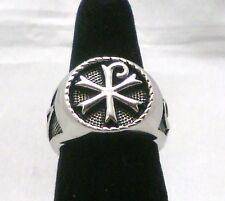 Chi Rho Monogram of Christ Ring