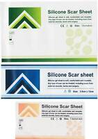 Silicone Gel Scar Wound Burn Dressing Sheet Skin Treatment Repair Sealed Sterile