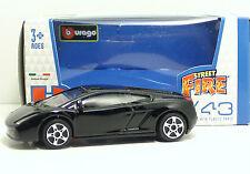 "Bburago 30010 Lamborghini GALLARDO ""Black"" - METAL 1:43"