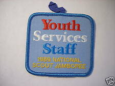 1989 JAMBOREE YOUTH SERVICES CORP PATCH