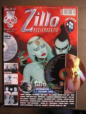ZILLO 2005 # 4 - GOTHMINISTER VNV NATION WUMPSCUT (:SITD:) NEW ORDER INCL. CD