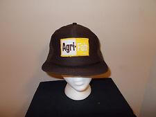 VTG-1970s Agri Fab lawn care groomers sprayers advertising trucker mesh hat sku7