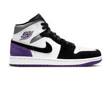 Nike Air Jordan 1 Mid SE Purple Black White EU 42 US 8,5 Neu OVP Deadstock