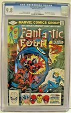 FANTASTIC FOUR #242 *CGC 9.8 WHITE PAGES**John Byrne* **TERRAX** THOR & SPIDEY**