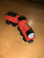 Thomas & Friends Wooden Railway James and Tender Train Engine Y4070 Rare!!!