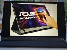 "ASUS ZenScreen MB16AMT 15.6"" IPS LCD Touchescreen Portable Monitor - Dark Grey"