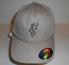 "The Original Flexfit by Yupoong Hippie ""Smokin"" Hat Bullseye L - XL Nwt"