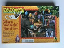 Zoboomafoo What a Wonderful Party! Board Game PBS Kids 100% Complete