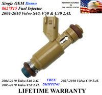 Single Unit DENSO 4510 fuel injector 05-10 Volvo 2.4L 8627815