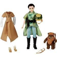 Star Wars Forces of Destiny Endor Adventure Princess Leia & Ewok Wicket Doll Toy