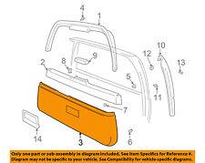 VOLVO OEM 98-00 V70-Door Trim Panel-Lift Gate Tail Tailgate 9195500