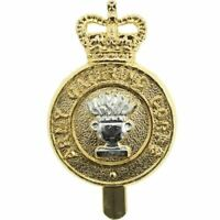 Staybright Army Catering Corps ACC Staybrite Anodised Cap Badge - LX56