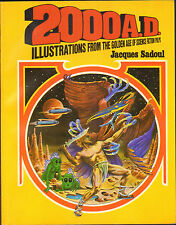 2000 AD Illustrations FromThe Golden Age of Science Fiction Pulps Jacques Sadoul