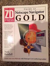 PC Magazine Netscape Navigator 2.0 Gold by Ziff-Davis Press Staff (1996, Paperba
