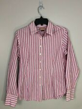 PINK Thomas Pink Womens Striped Long Sleeve Button Down Shirt Size 12