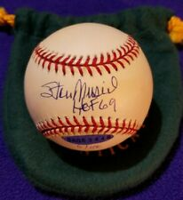 "UDA STAN MUSIAL ""HOF '69"" AUTOGRAPHED OFFICIAL NL BASEBALL (JERSEY #6/106)"