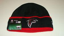 Mens Atlanta Falcons New Era On-Field Tech Sideline Cuffed Knit Hat Cap Football