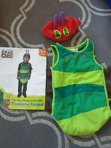 Very Hungry Caterpillar Costume World Book Day 3-5 Years Old