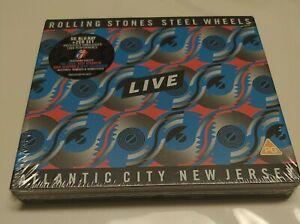 The Rolling Stones - Steel Wheels Live (2 Cd+Blu-Ray) Box Nuovo Sigillato