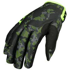 GUANTI GLOVES MOTO ENDURO CROSS MX SCOTT 350 RACE BLACK YELLOW GIALLO FLUO TG L