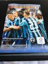 Djurgarden V Brommapojkarna 16th September 2018 Allsvenskan