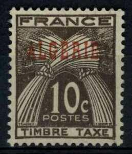 Algeria 1947 SG#D283, 10c Blackish Brown Postage Due MH #E91142