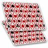 2 x Rectangle Stickers 7.5 cm - Playing Cards Hearts Spades Cool Gift #3724